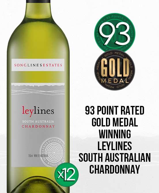 Songlines Estates Leylines Chardonnay 2018 Dozen