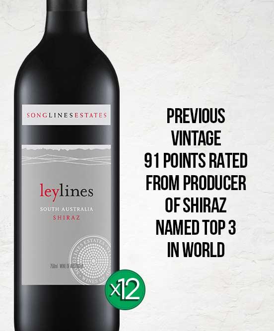 Songlines Estates Leylines Shiraz 2018 Dozen
