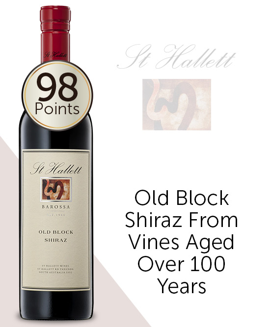 St Hallett Old Block Barossa Shiraz 2012