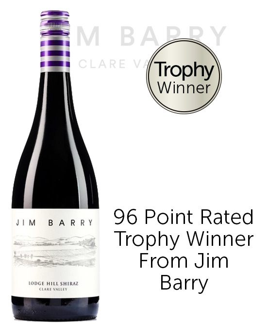 Jim Barry Lodge Hill Clare Valley Shiraz 2019