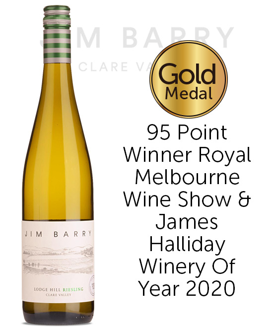 Jim Barry Wines Lodge Hill Clare Valley Riesling 2021