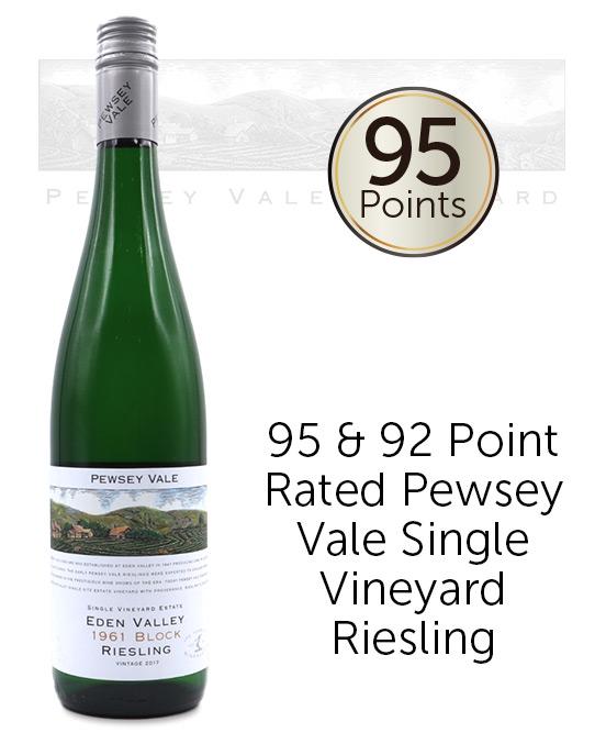 Pewsey Vale Vineyard 1961 Block Single Vineyard Estate Eden Valley Riesling 2019