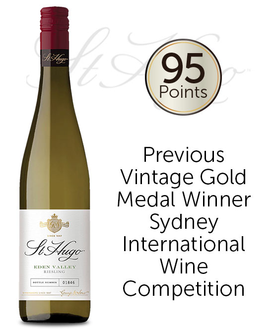 St Hugo Eden Valley Riesling 2019