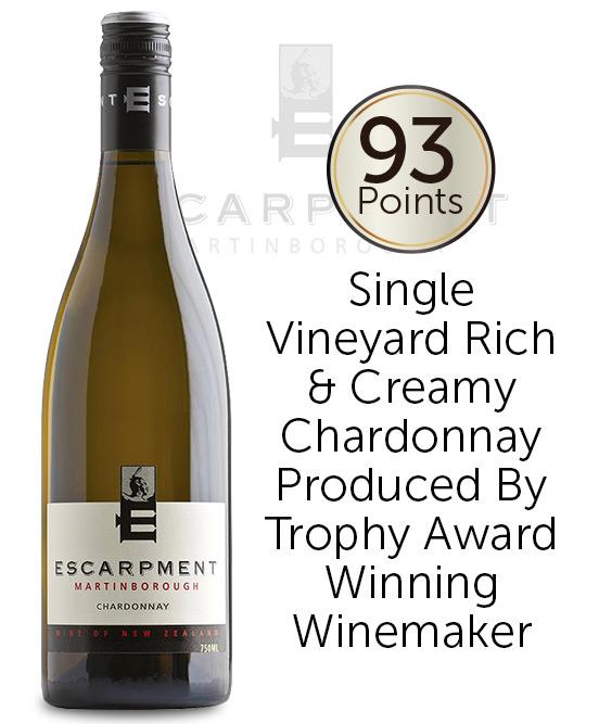 Escarpment Wines Martinborough Chardonnay 2018