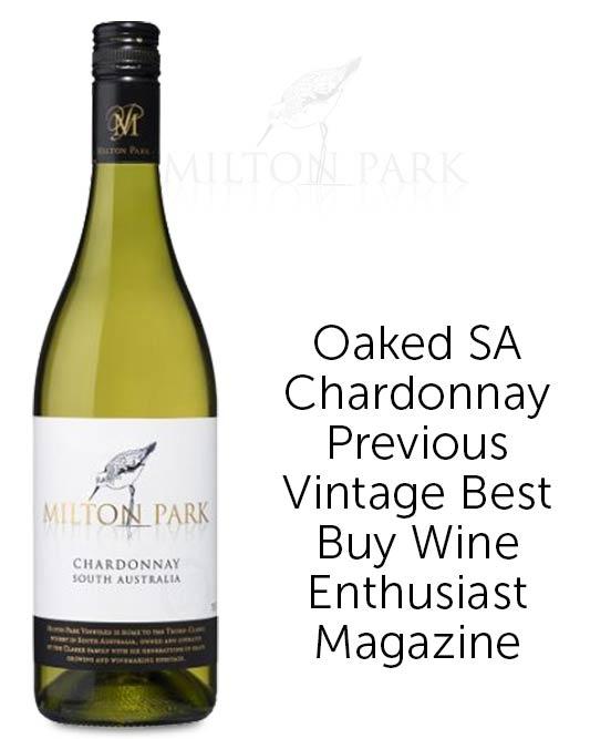 Milton Park South Australian Chardonnay 2019