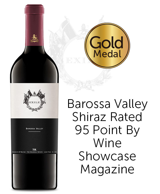 The Colonial Estate Exile Barossa Valley Shiraz 2018