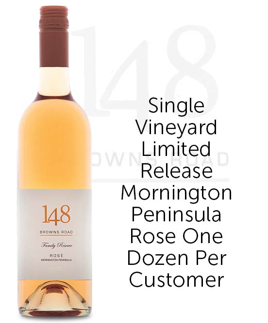 148 Browns Road Family Reserve Mornington Peninsula Rose 2017