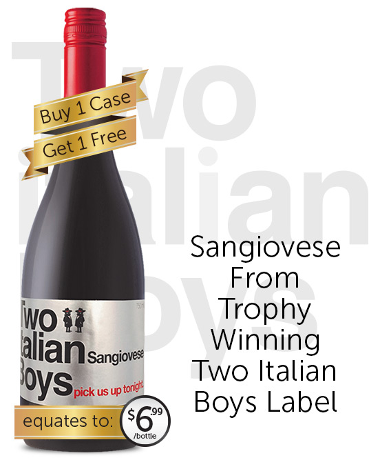 Two Italian Boys Sangiovese 2015