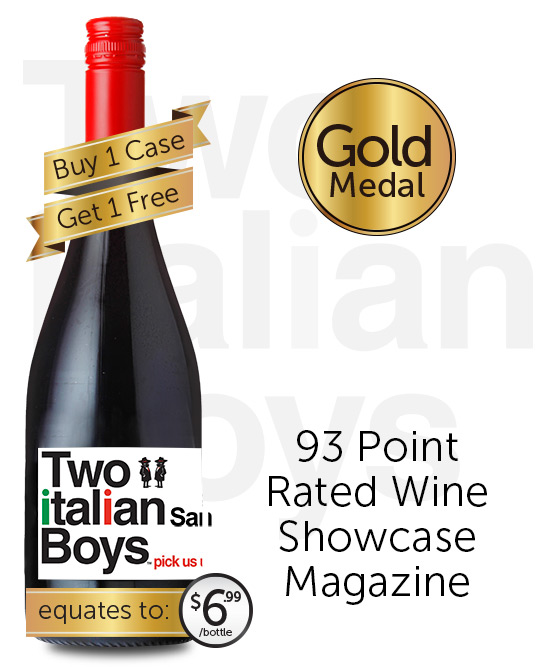 Two Italian Boys Sangiovese 2017