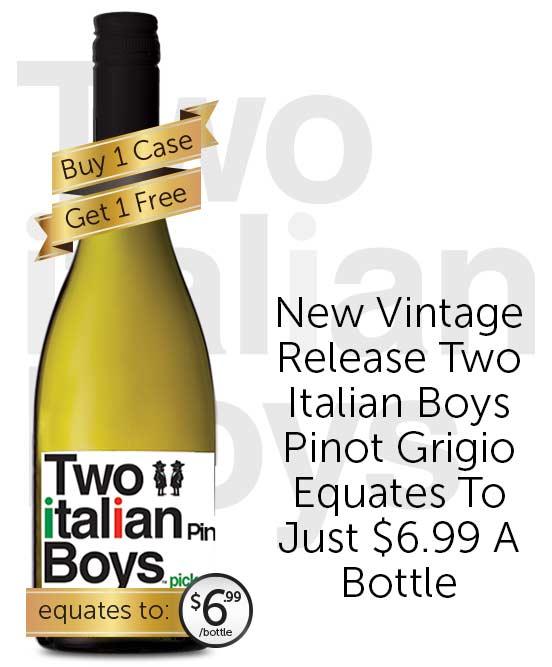 Two Italian Boys Pinot Grigio 2019