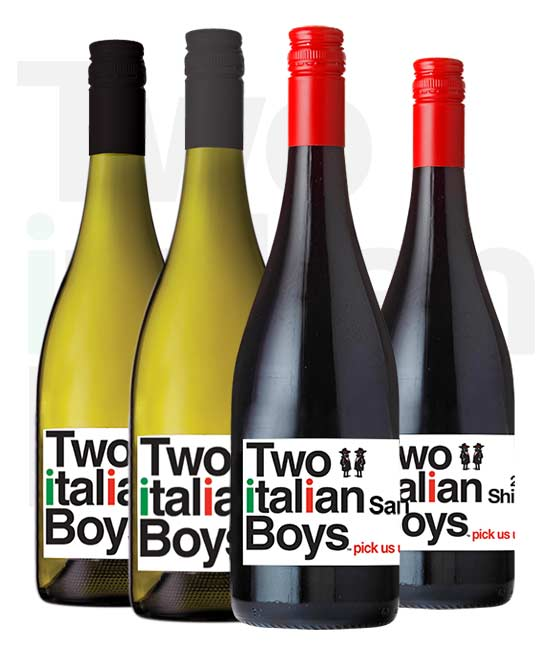 Two Italian Boys Mixed Dozen