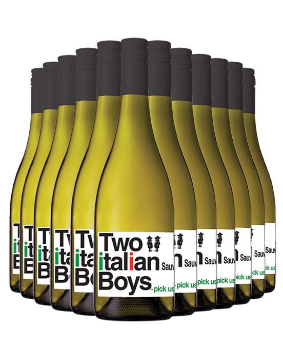 Two Italian Boys Sauvignon Blanc 2020 Dozen