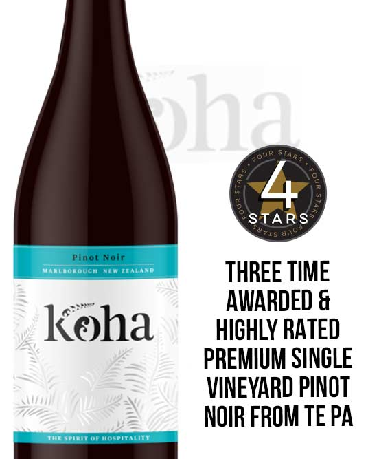 Koha Marlborough Pinot Noir 2015