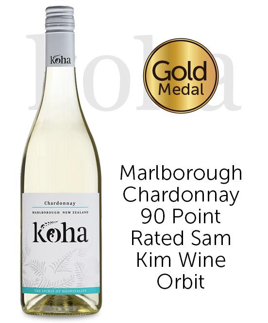 Koha Marlborough Chardonnay 2018