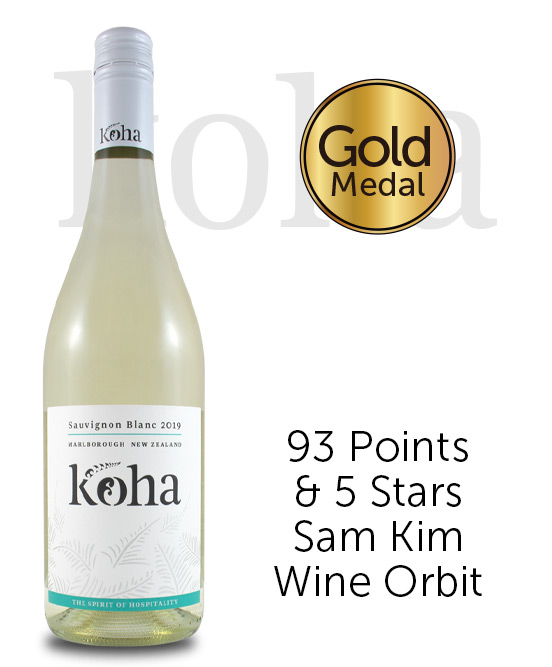 Koha Marlborough Sauvignon Blanc 2019