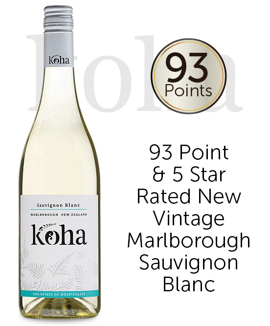 Koha Marlborough Sauvignon Blanc 2020