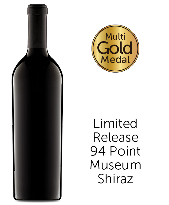 Triple Gold 94 Point Barossa Valley Shiraz 2016 Cleanskin