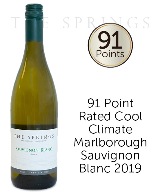 The Springs Marlborough Sauvignon Blanc 2019