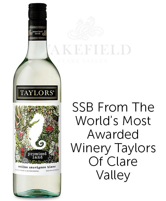 Wakefield Taylors Family Wines Promised Land South Australia Semillon Sauvignon Blanc 2018