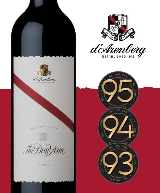 D'Arenberg The Dead Arm McLaren Vale Shiraz 2016