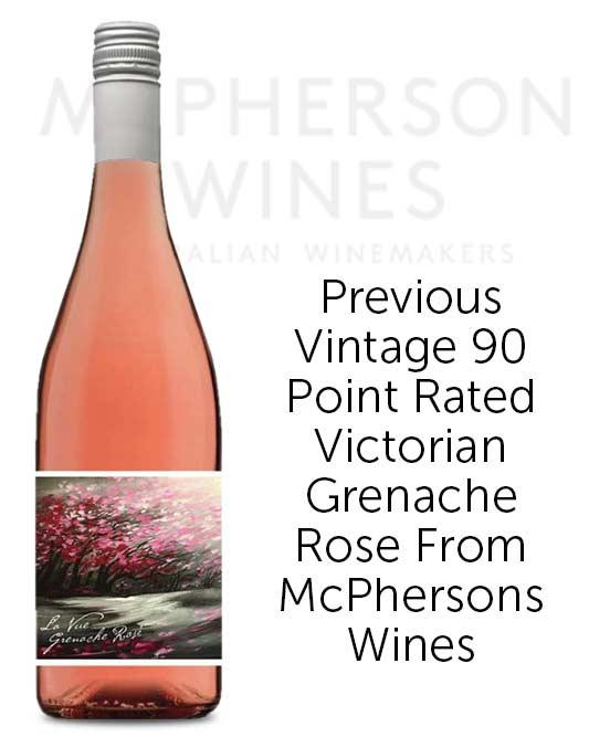 McPherson La Vue Victorian Grenache Rose 2019