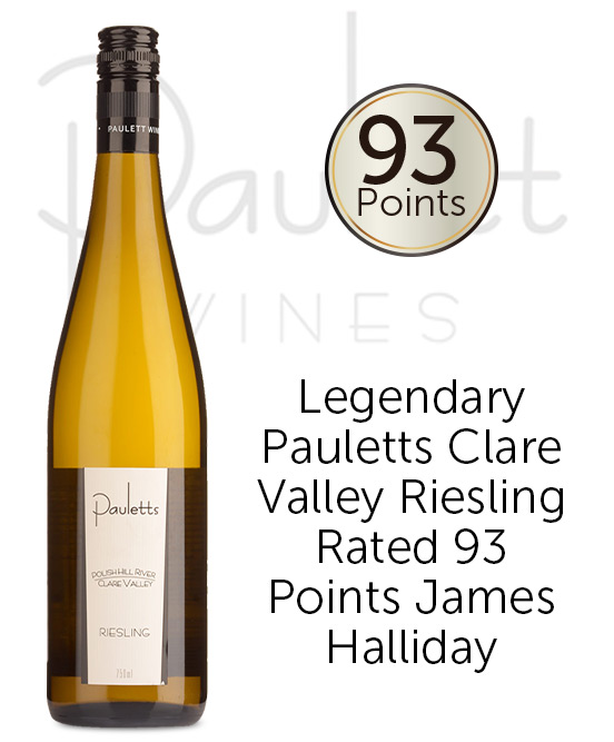 Pauletts Polish Hill River Clare Valley Riesling 2018