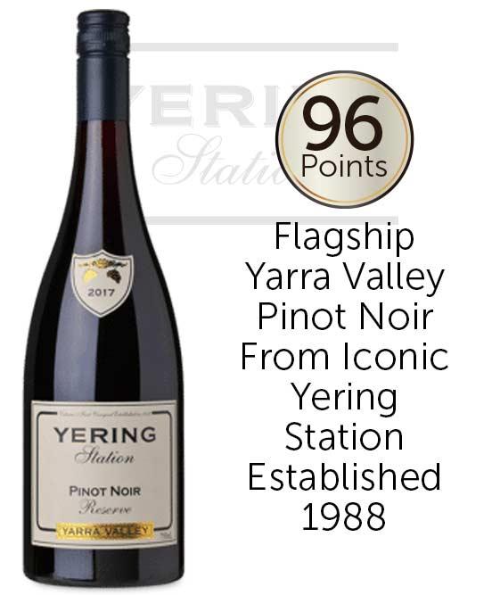 Yering Station Reserve Yarra Valley Pinot Noir 2017