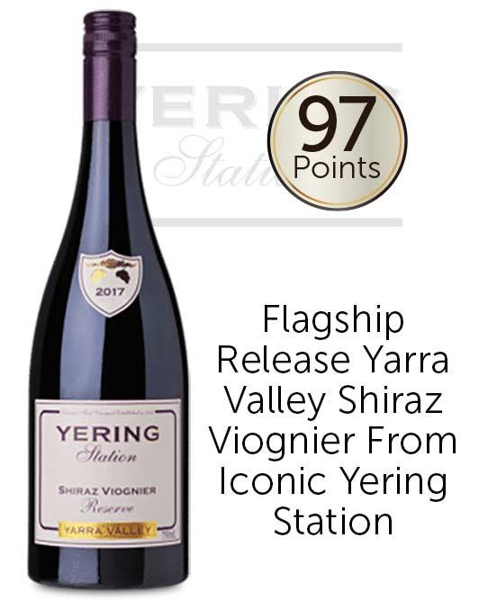 Yering Station Reserve Yarra Valley Shiraz Viognier 2017