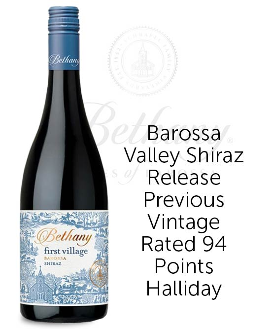 Bethany First Village Barossa Valley Shiraz 2018