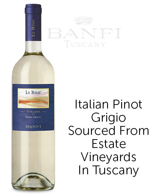 Banfi Le Rime Toscana IGT Pinot Grigio 2018