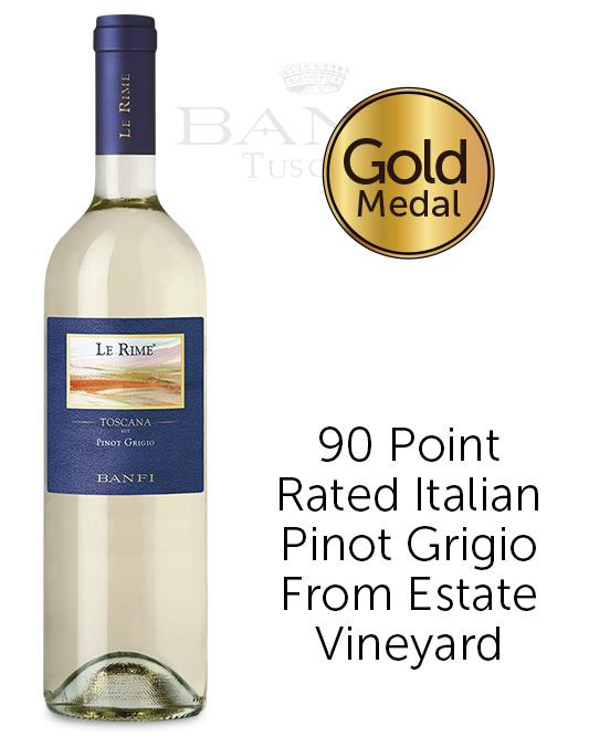 Banfi Le Rime Toscana IGT Pinot Grigio 2019