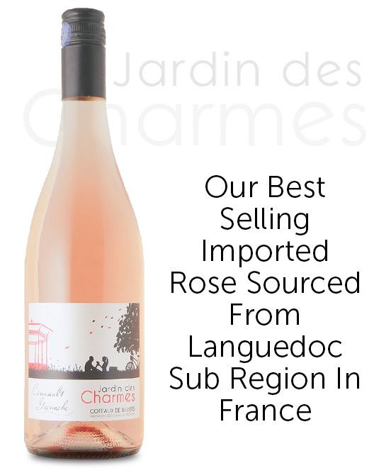 Jardin Des Charmes Coteaux De Beziers IGP Rose 2019