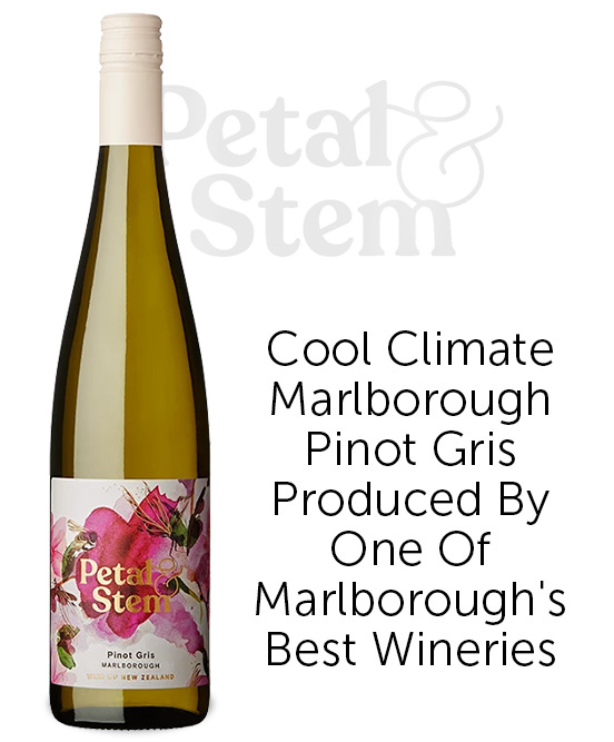 Petal & Stem Marlborough Pinot Gris 2020