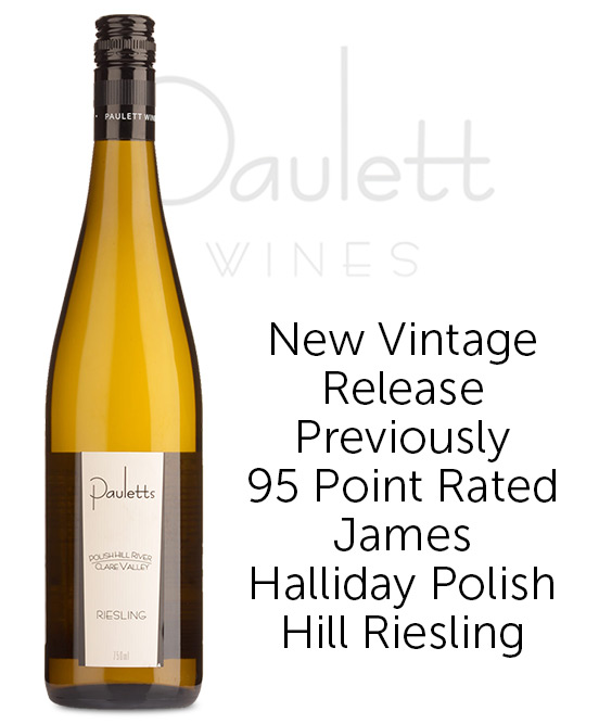 Pauletts Polish Hill River Clare Valley Riesling 2020