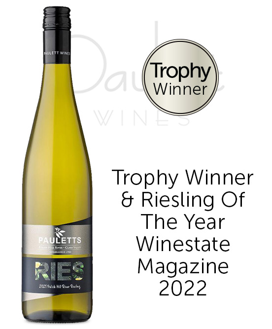 Pauletts Polish Hill River Clare Valley Riesling 2021