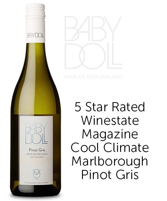Baby Doll Marlborough Pinot Gris 2019