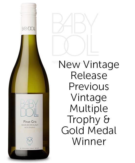 Baby Doll Marlborough Pinot Gris 2020
