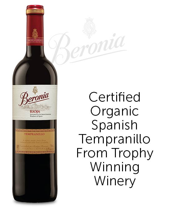 Beronia La Rioja Tempranillo 2016