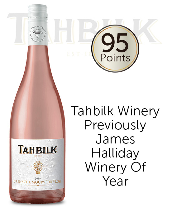 Tahbilk Grenache Mourvedre Rose 2019