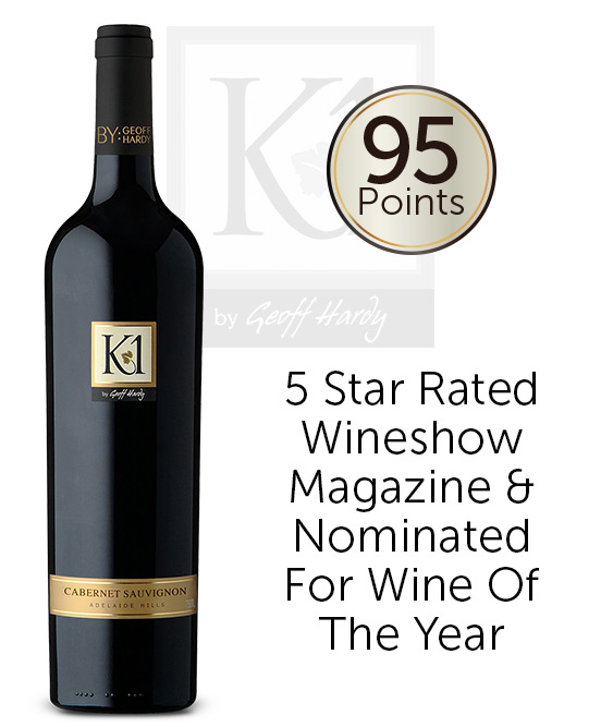 K1 by Geoff Hardy Adelaide Hills Cabernet Sauvignon 2017