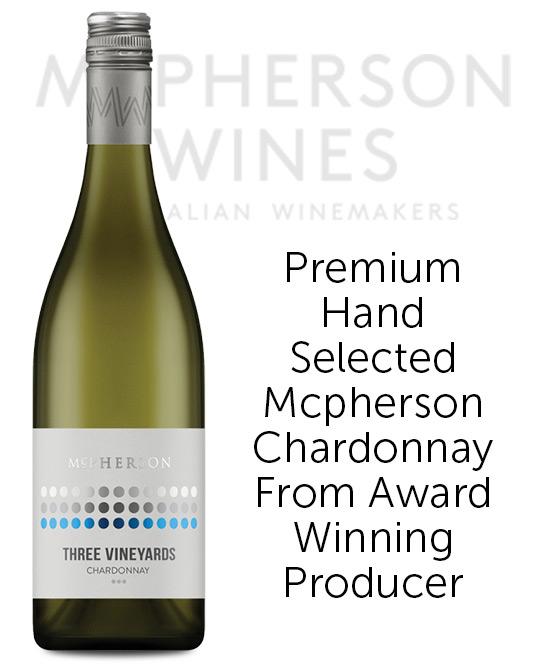 McPherson Three Vineyard Chardonnay 2018