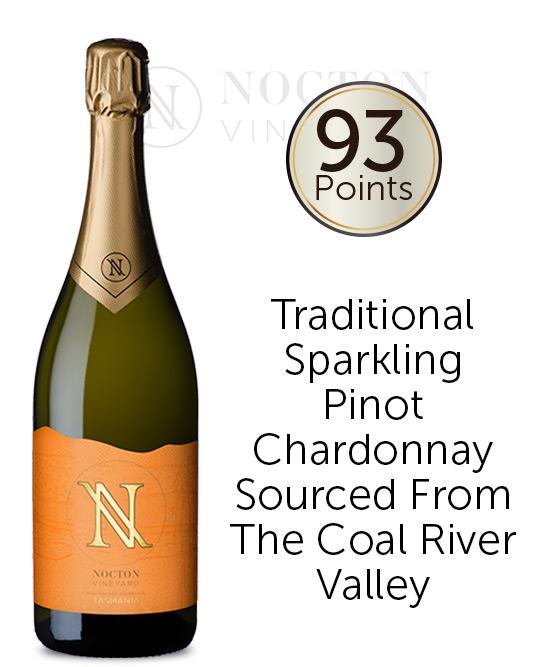 Nocton Vineyard Estate Sparkling Pinot Noir Chardonnay Nv