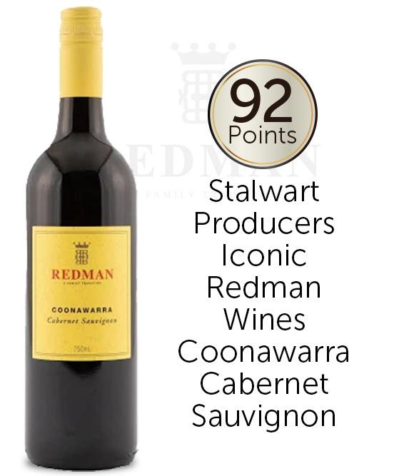 Redman Coonawarra Cabernet Sauvignon 2018