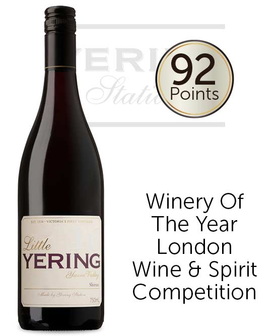 Yering Station Little Yering Yarra Valley Shiraz 2018
