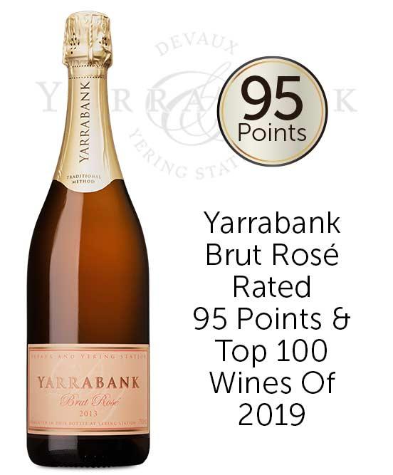 Yarrabank Yarra Valley Brut Rose 2013