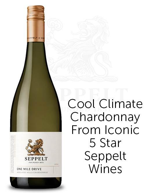 Seppelt One Mile Drive Adelaide Hills Chardonnay 2018