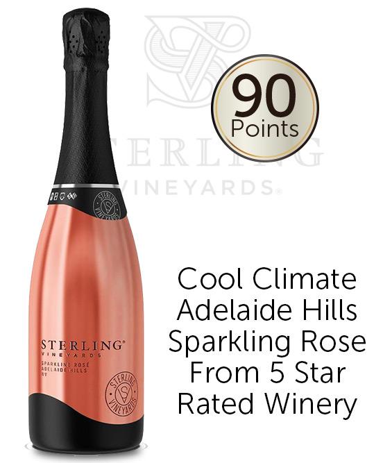 Sterling Sparkling Rose Nv
