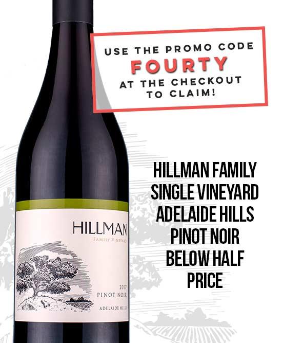 Hillman Family Vineyard Adelaide Hills Pinot Noir 2017