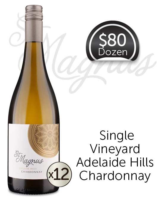 St Magnus Adelaide Hills Chardonnay 2018 Dozen