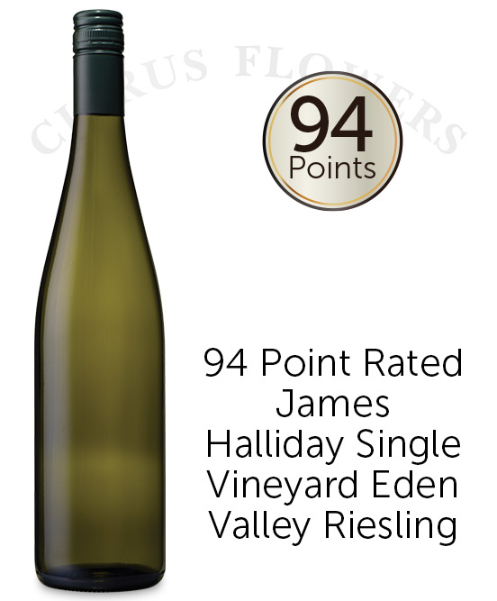 94 Point Halliday Rated Eden Valley Riesling 2019 Cleanskin